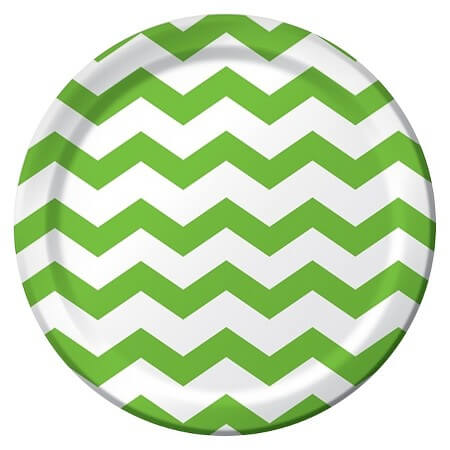Green party supplies | Halfpint Design - These plates make a great St. Patrick's Day party or a fun addition to a Dinosaur party, Princess and the Frog party, reptile party, etc.