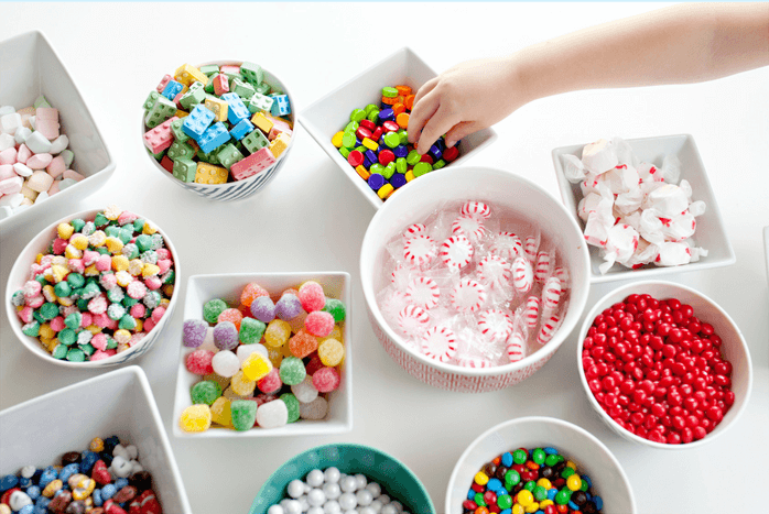 Why I Say NO to Dessert Buffets | Halfpint Design - Kids these days already consume way too much sugar. Let's give them all the fun without the crash.