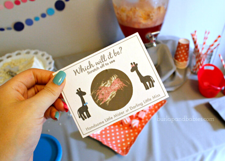 10 Ways to Reveal Baby's Gender | Halfpint Design -