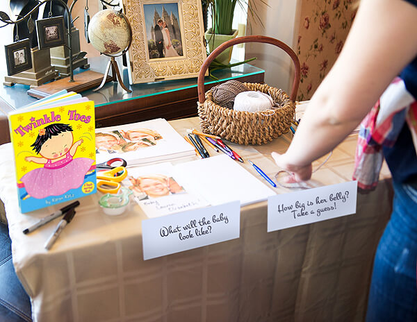 """Vintage Coral & Gold Baby Shower 
