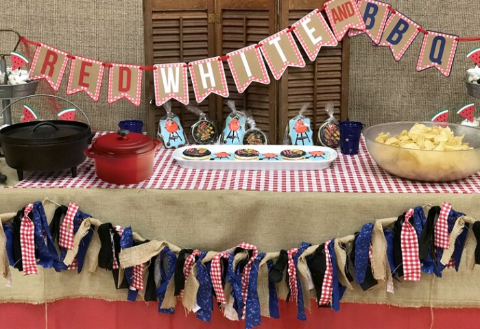Red White and BBQ Party