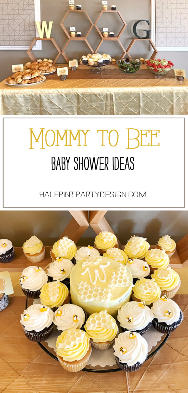 Mommy To Bee Baby Shower Halfpint Party Design
