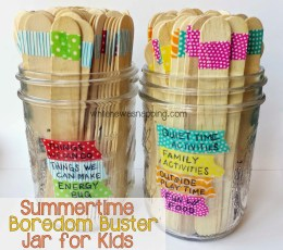 "Make Your Own ""I'm Bored Jar"" Full of Fun Activities for Kids! Summer Activities for Kids, Fun Stuff For Kids, Kid Stuff, Kid Crafts, Crafts for Kids, Summer Crafts for Kids, Kid Crafts, Easy Kid Stuff, Popular Pin"