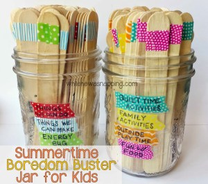 Make Your Own I M Bored Jar Full Of Fun Activities For Kids