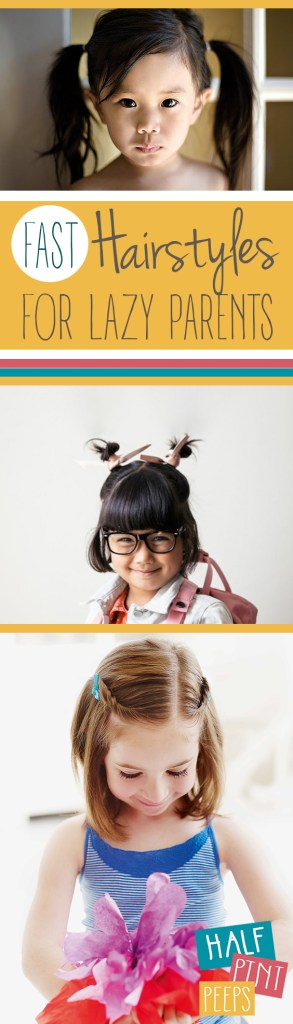 Fast Hairstyles for Lazy Parents| Hairstyles for Kids, Kid Stuff, Hairstyles, Easy Hairstyles, Fast Hairstyles, Popular Pin #HairstylesForKids #FastHairstylesForKids #KidStuff #Beauty