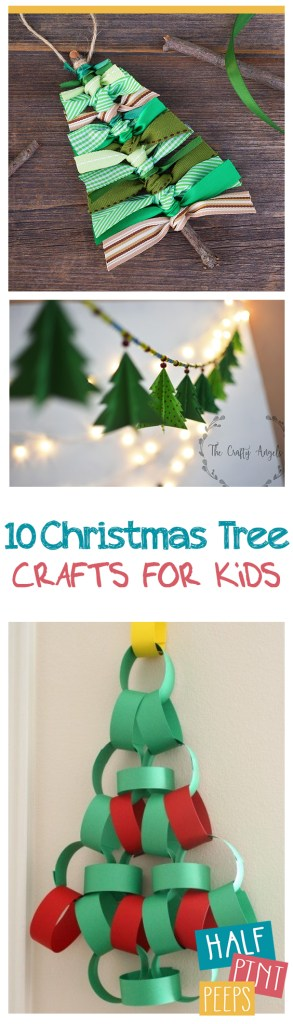 10 Christmas Tree Crafts for Kids| Christmas Tree Crafts, Crafts for Kids, Holiday Crafts for Kids, Easy Crafts for Kids, Simple Crafts for Kids, Kid Stuff, Popular Pin #ChristmasCrafts #HolidayCrafts #KidStuff
