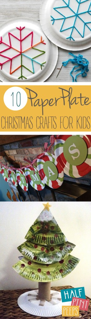 Paper Plate Christmas Crafts.10 Paper Plate Christmas Crafts For Kids
