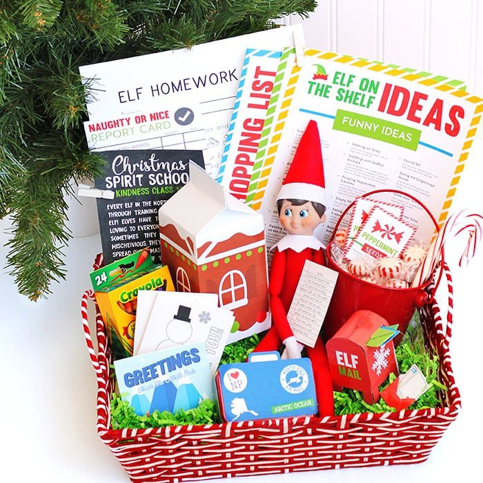 Christmas Gift Ideas For Kids Diy.12 Diy Christmas Gift Baskets For Kids