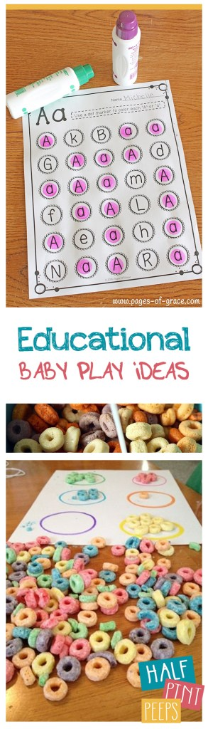 Educational Baby Play Ideas| Baby Play, Baby Play Activities, Educational Baby Play, Parenting, Parenting Tips and Tricks, Popular #Parenting #KidStuff #BabyActivities