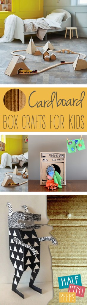 Cardboard Box Crafts for Kids| Cardboard Box Crafts, Kid Crafts, Fun Crafts for Kids, Kids Activities, Popular Pin, Cardboard Box Hacks #KidsCrafts #KidsActivities