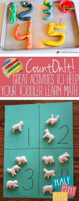 Count On It!  Great Activities to Help Your Toddler Learn Math| Math Activities, Educational Activities for Kids, Activities for Kids, Kid Stuff, Educational Fun for Kids, Fun Stuff for Kids, Educational Activities for Toddlers, Toddler Activities, Fun and Educational Activities for Kids, Popular Pin #ToddlerActivities #EducationalActivities #KidStuff