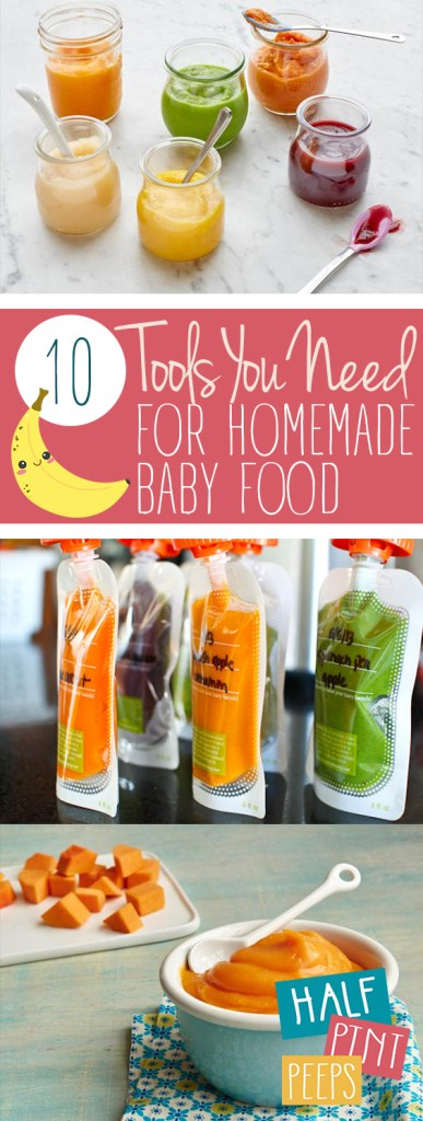 10 Tools You Need for Homemade Baby Food| Baby Food, Baby Food Recipes, Homemade Baby Food, Homemade BAby Food Recipes, Homemade Baby Food Stage 1, Parenting, Parenting Tips