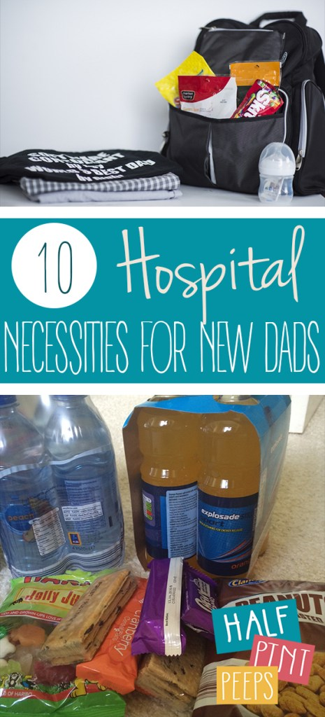 10 Hospital Necessities for New Dads| Hospital Bag Checklist, Hospital Bag for Dad to Be, Parenting, Parenting Hacks, Parenting Hacks for Dad