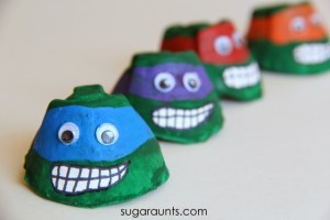 Fun Ninja Turtle Crafts For Kids Of All Ages Fun Crafts For Kids
