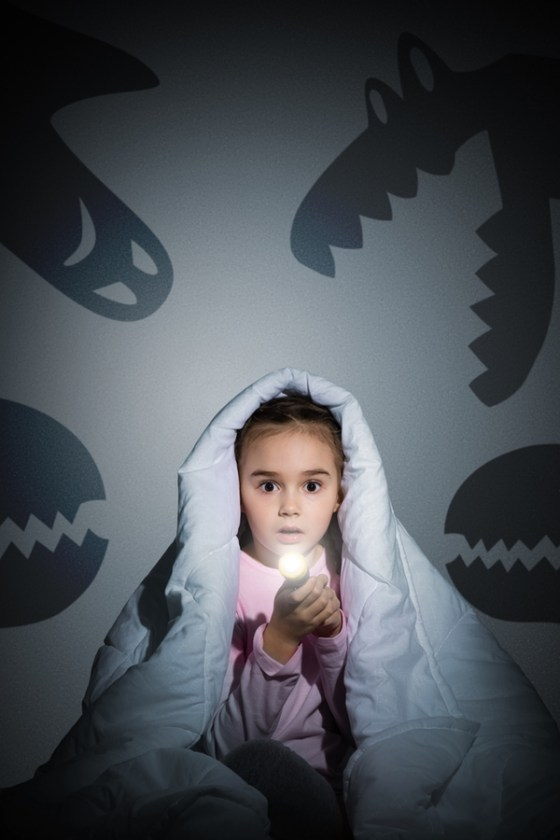 When Your Child Is Afraid Of The Dark
