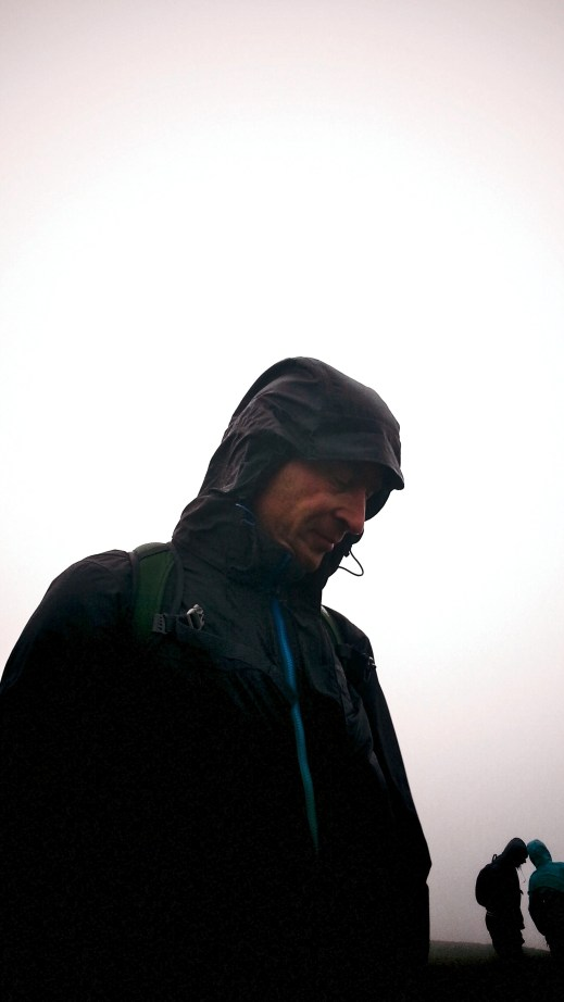 On top of Red Screes, Helvellyn