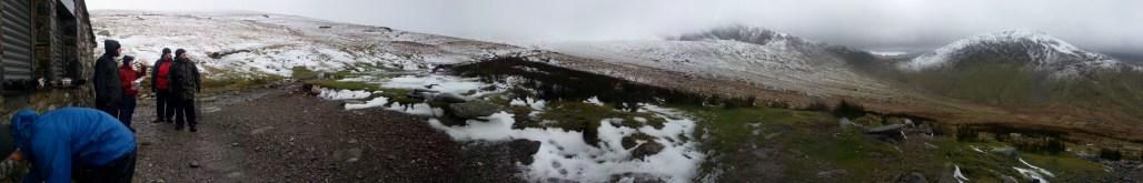 Snowdon Halfway House Panorama