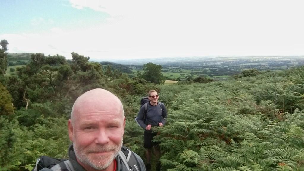 Offa's Dyke Clwydian Hills red Cross Hike Challenge walk