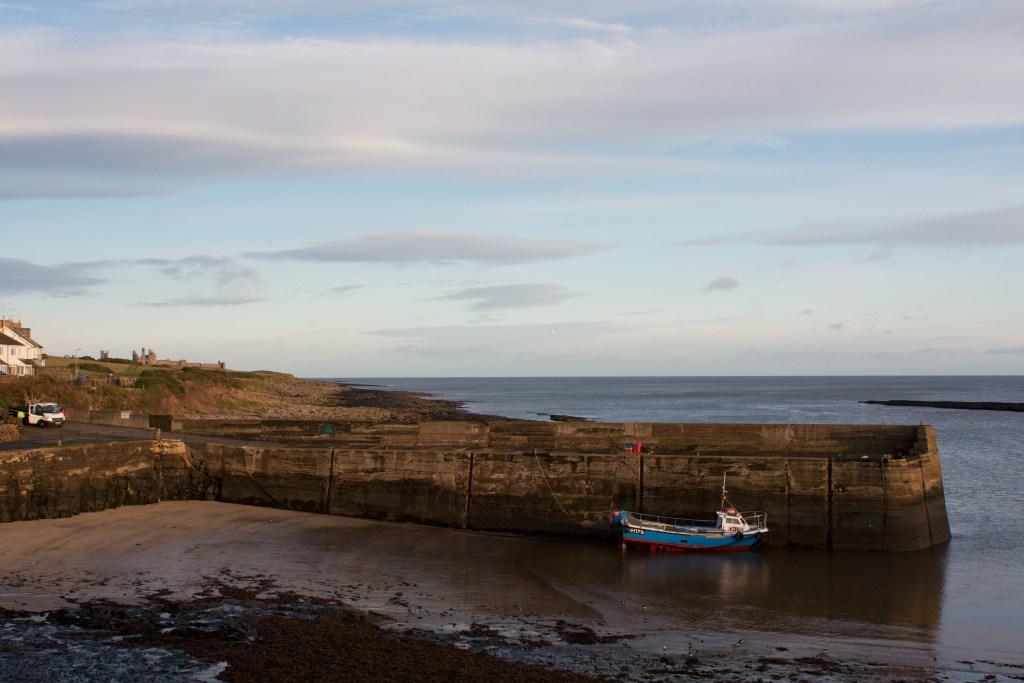 Craster Harbour northumberland coastal path