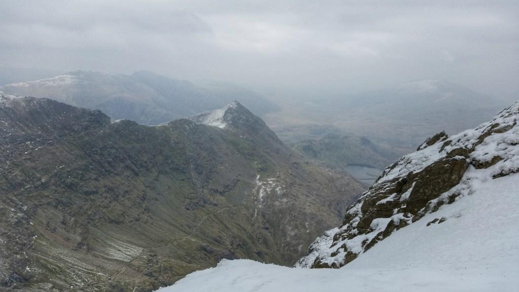 Snowdon In The Snow hike trip Llanberis Path