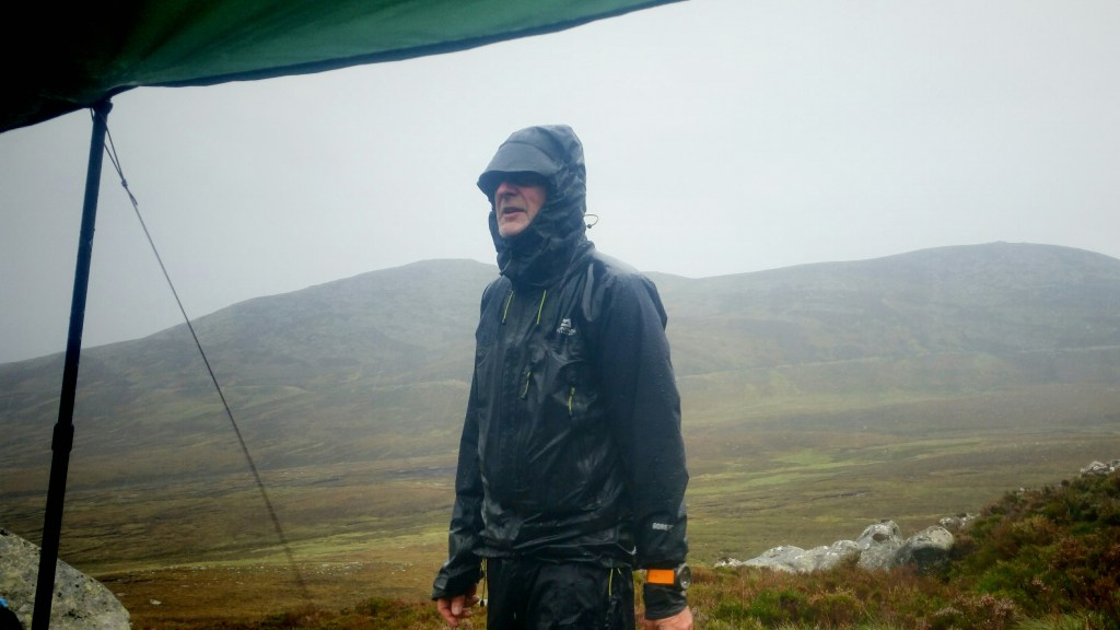 Balmoral Estate moors in wild weather