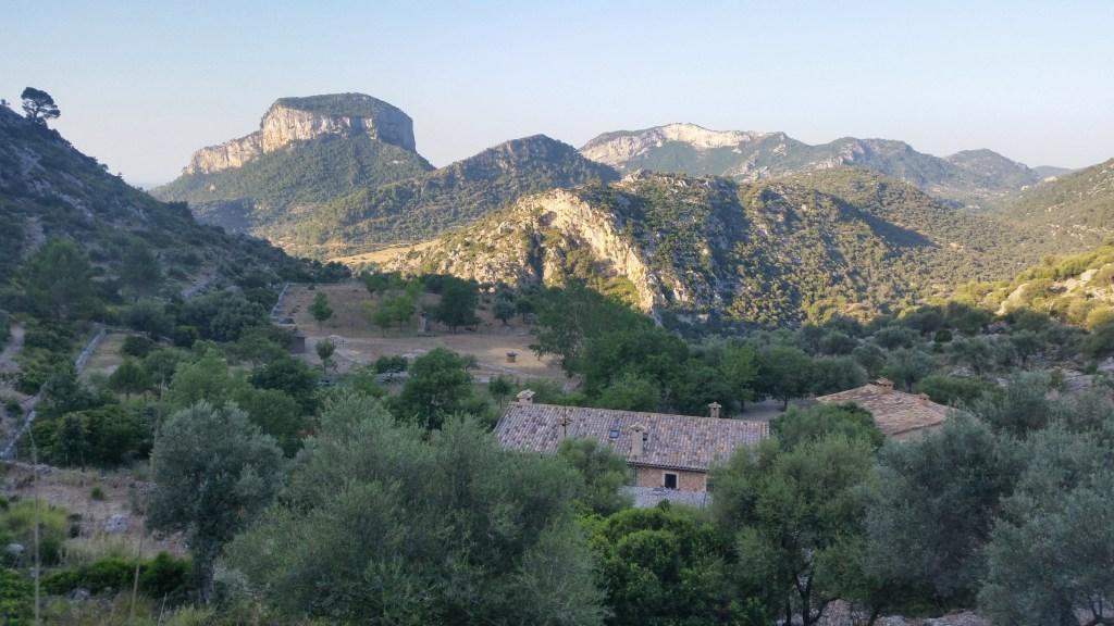GR221 Mallorca hiking Tossals verds to Soller