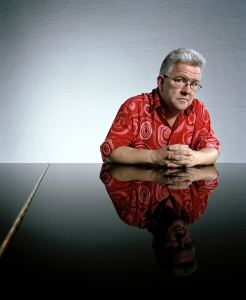 Ian McMillan poet featured on the Marsden poetry trail
