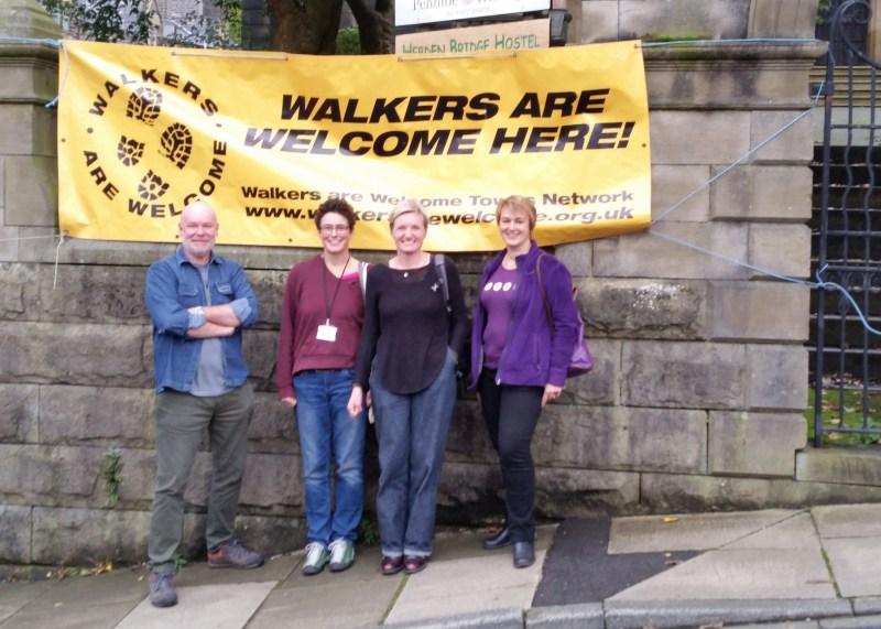 Marsden Walkers Are Welcome committee
