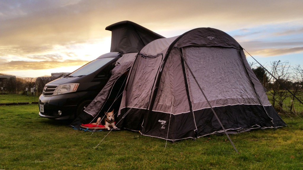 Alphard Campervan Burnham Deepdale camping campervan trip