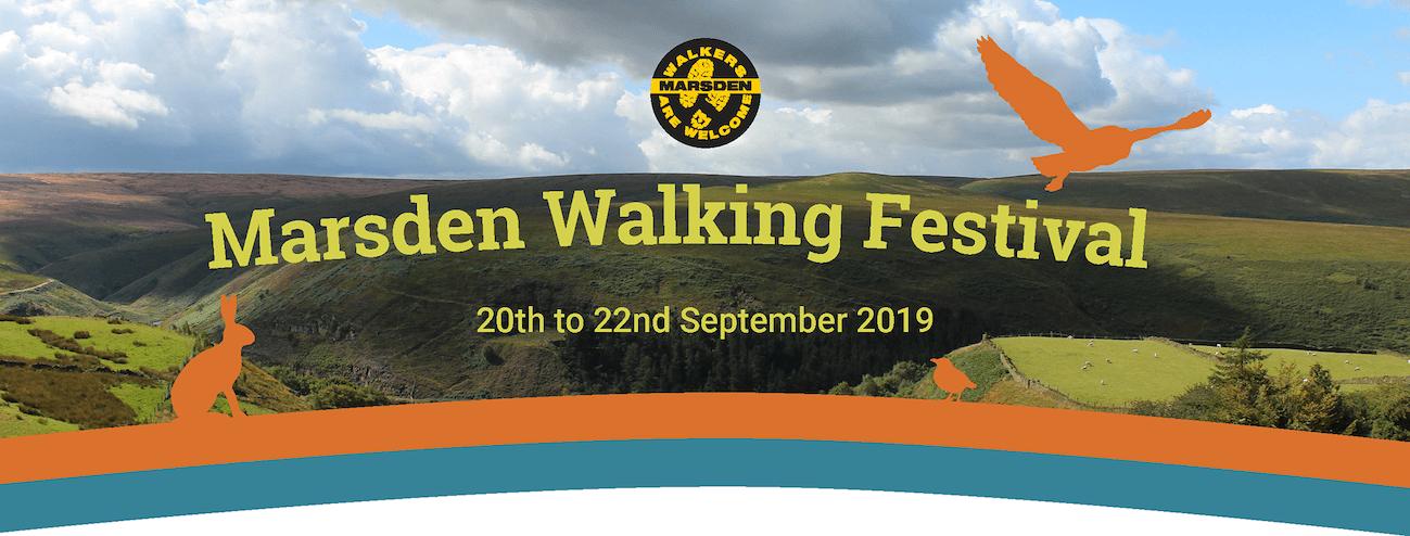 Marsen Walking Festival banner