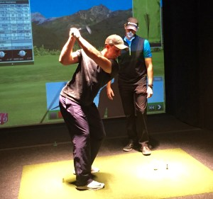 lessons with pga pro at halfway house indoor golf