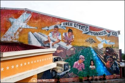 Mural from Cigar Safari.