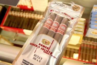 The Romeo y Julieta 1875 line is another of the company's cigars available in sealed packages.