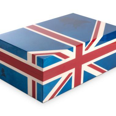 Davidoff Winston Churchill Union Jack Humidor 3