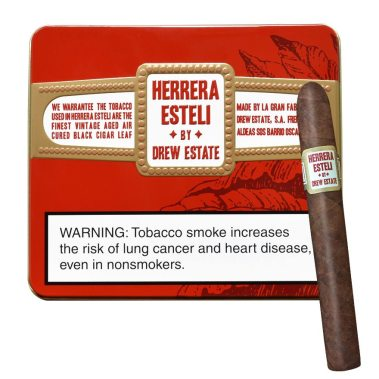 Drew Estate 4x32 tin Herrera_Esteli copy
