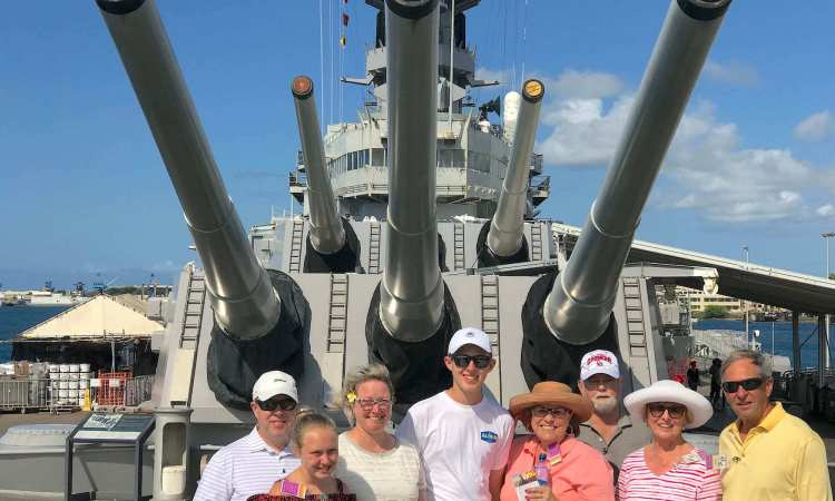 Pearl Harbor with the family
