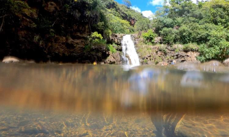 North Shore Waterfall
