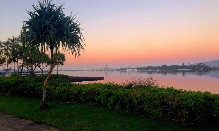 Sunrise at Pearl Harbor