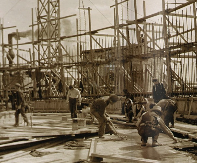 Original Construction, Circa 1913