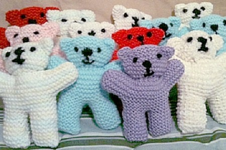 Images Of Knitted Teddy Bears Path Decorations Pictures Full