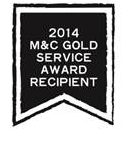 M&C Gold Service Award