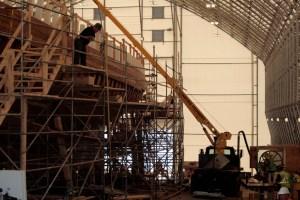 Bluenose 2 Restoration 2010-2011