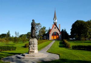 Grand Pre National Historic Site Statue of Evangeline