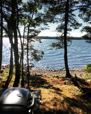 Porters Lake Provincial Park Campground Off-Leash Dog Friendly