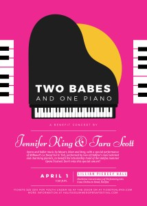 Two Babes and One Piano: a fundraising concert for HSOF