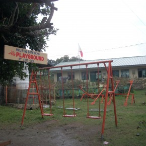 Playground renovation in Rissing Elementary School, 2012