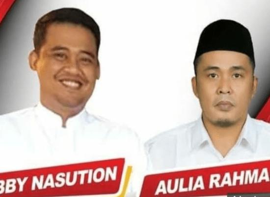 Pilkada Medan. Bobby Nasution – Aulia Rachman Nomor Urut 2