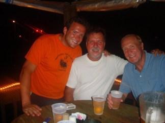 (Left to Right, Andrew Hall, Mark Emory, John Hall)