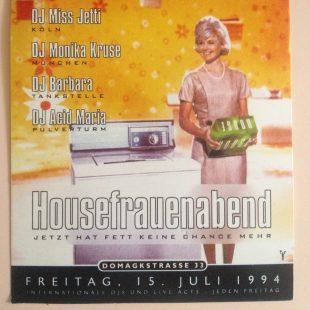 1994 - Housefrauenabend Domagkstrasse - Munich