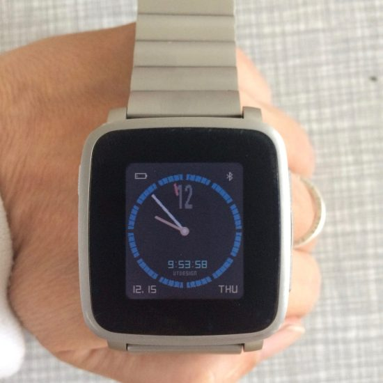 Smartwatch Pepple Time Steel
